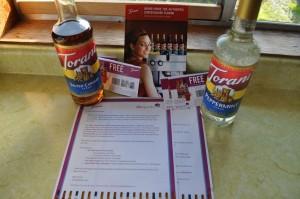 SheSpeaks Torani Flavored Syrups Kit