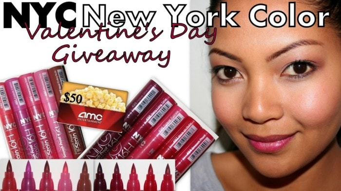 NYC New York Color Valentines Giveaway!