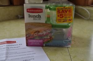 Rubbermaid LunchBlox Sandwich Kit 3