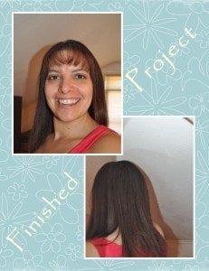 Finished Project with BaByliss Pro