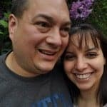 Jason and I at Portland, Oregon Zoo Brew