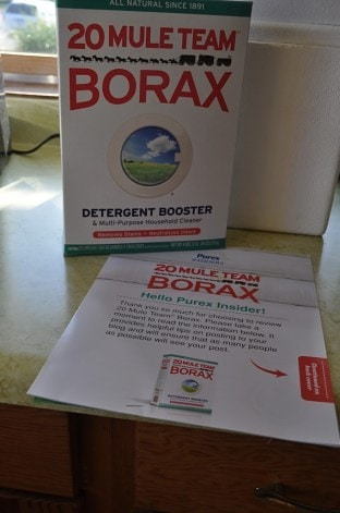 20 Mule Team Borax – Got some hard water? Get some Borax!