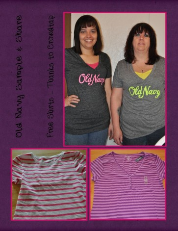 Sample & Share from Crowdtap for some Old Navy Shirts! – Get your Shirt On