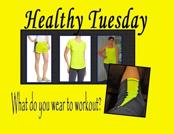 Healthy Tuesday – What you wear when working out, does it matter?