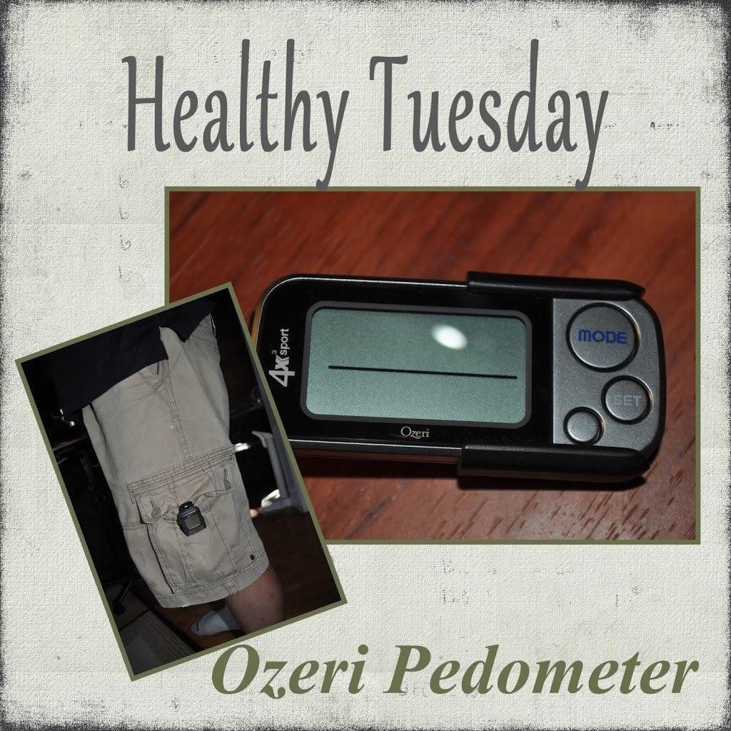 Healthy Tuesday – Ozeri Pedometer