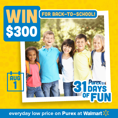 31 Days of Fun – Giveaways from Purex