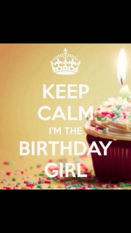 All About Me Friday's – – It's my Birthday!