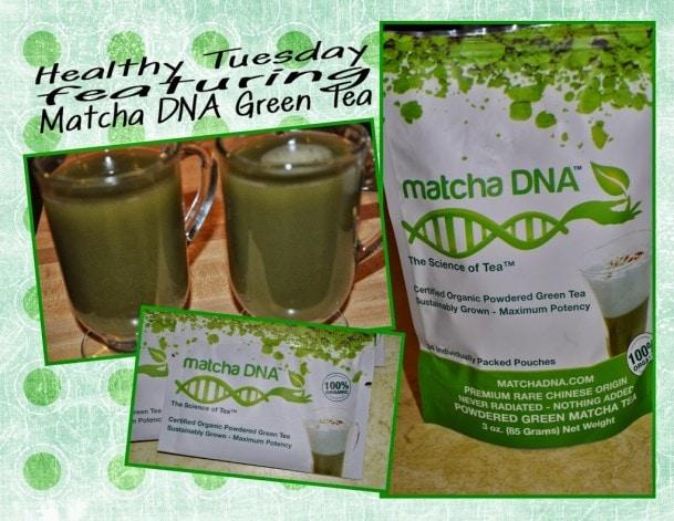 Healthy Tuesday – Matcha DNA Green Tea