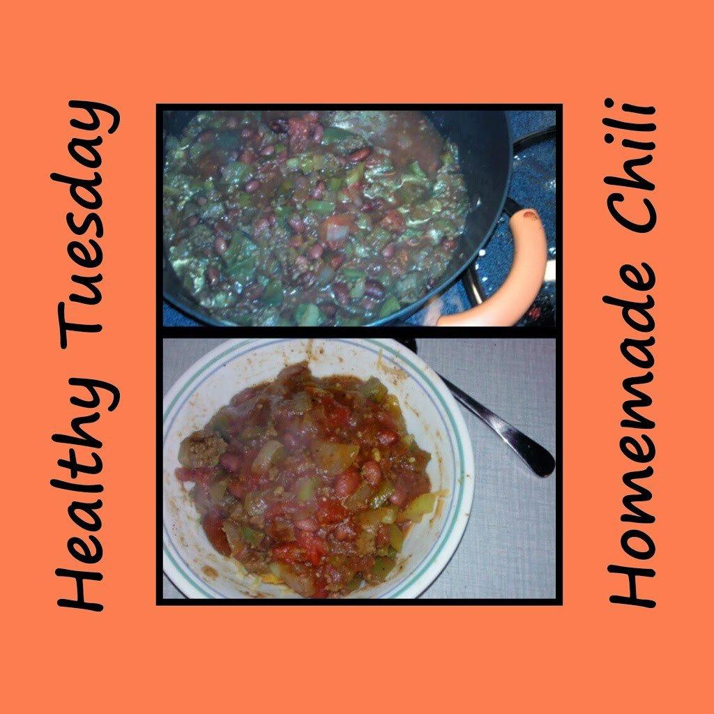 Healthy Tuesday – Homemade Chili
