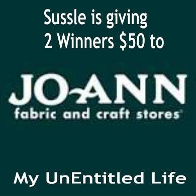 Wanna Win a Jo-Ann's gift card?  Ends 10/31