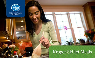 Dinner Made Easy with Kroger Skillet Meals