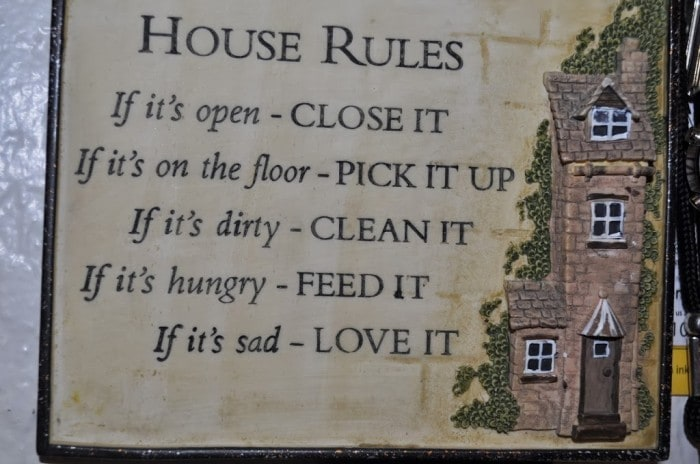House Rules - Catch The Moment 365 for 2014