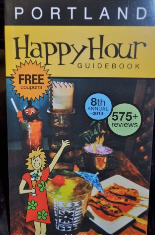 Getting Happy With Portland Happy Hour Guidebook Review & Giveaway (Giveaway ends 2/3/14) (Portland, OR/Vancouver, WA)