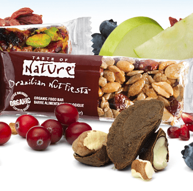 Getting Rewarded for being interactive on Facebook with #Splashscore with a #free Taste of Nature snack bar