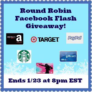 Round Robin Giveaway Ends 1/23 at 8p.m.(ET)