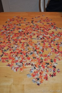 Day 42 - Starting Puzzle - Shaped like a heart - Angie's Angle