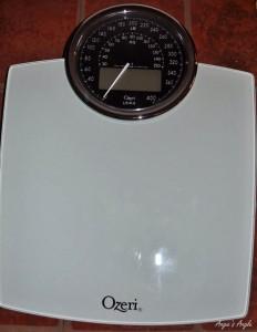 Ozeri Digital Bath Scale - Angie's Angle