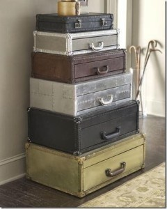 """Suitcase"" Stacked Chest"