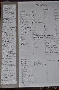 Day 60 - Two Week Meal plan plus the grocery list