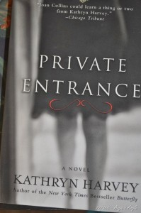 Day 72 - Private Entrance - Third Butterfly book