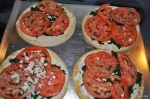 Greek Pizza 2 for Healthy Tuedsay - Angie's Angle