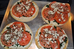 Greek Pizza 3 for Healthy Tuedsay - Angie's Angle