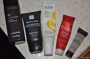 Routine of my Makeup - Primer for my Face