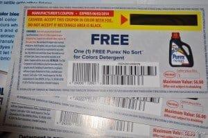 Purex No Sort for Colors Detergent (4)