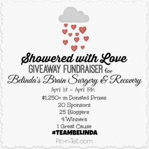 showered with love giveaway