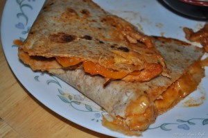 Day 140 - Amazing Chicken quesadilla