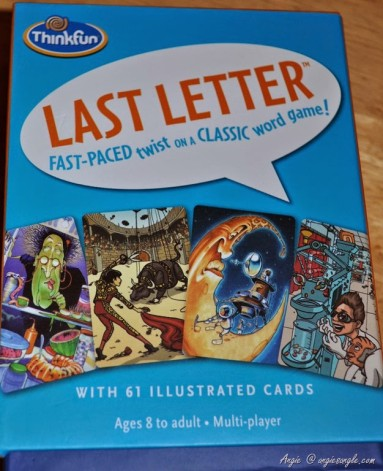 Who wants a new game to play?  Last Letter Game Review