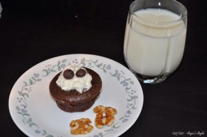 Day 152 - Cupcake & Milk