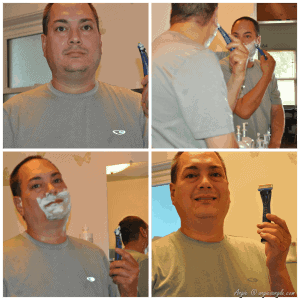 Process of the Schick Hydro Shave