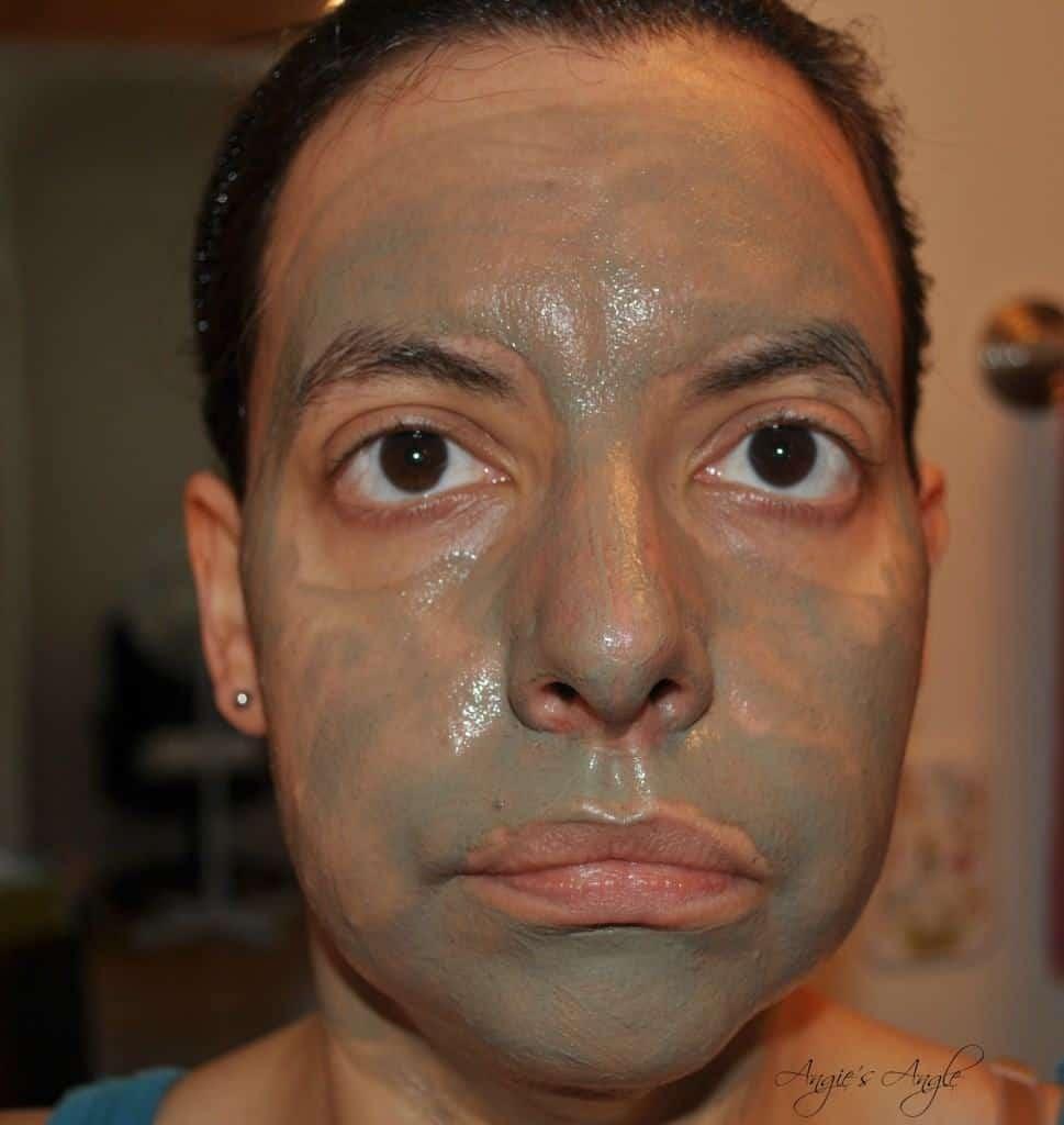 Bearfaced Dead Sea Mud Mask - Mask On