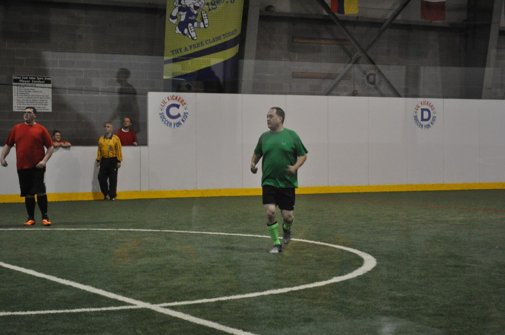 Jason at Indoor Soccer