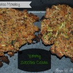 Healthy Tuesday - Zucchini Cakes