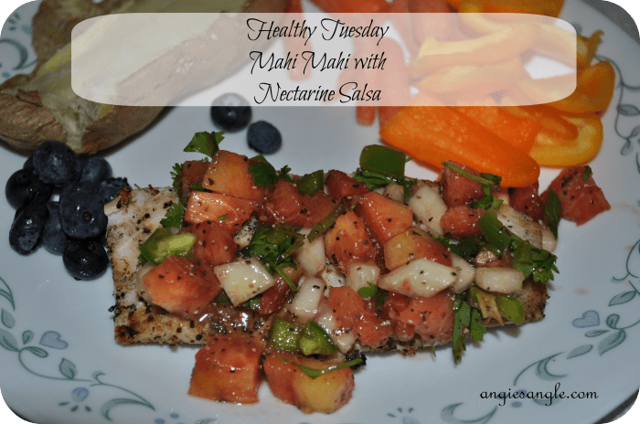 Mahi Mahi with Nectarine Salsa – Healthy Tuesday