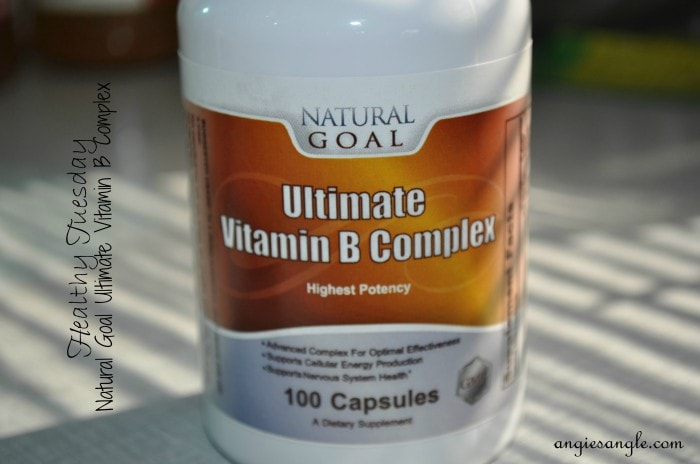 Vitamin B Complex by Natural Goal – Healthy Tuesday