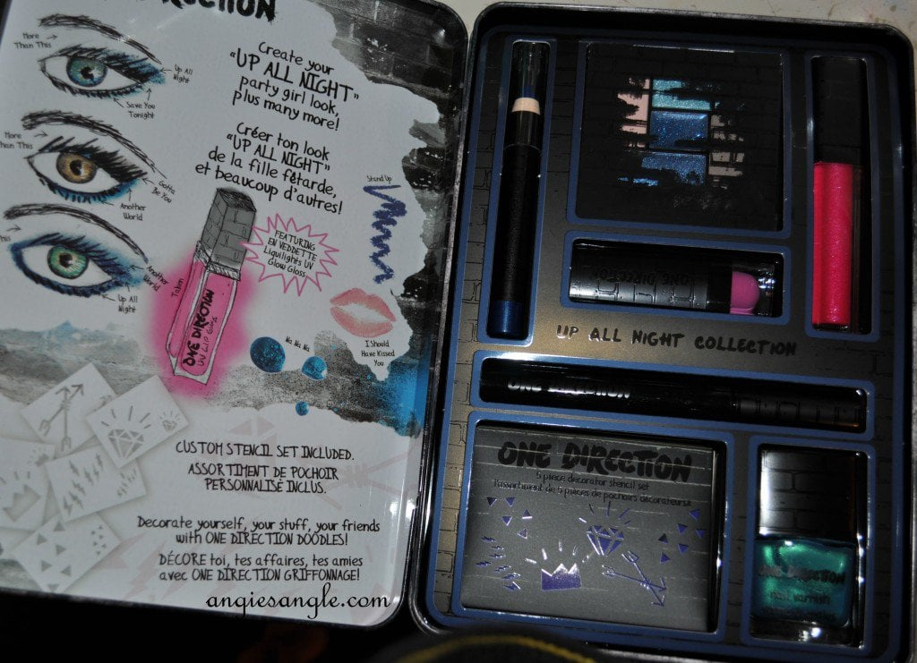 One Direction Makeup Line - Open Tin