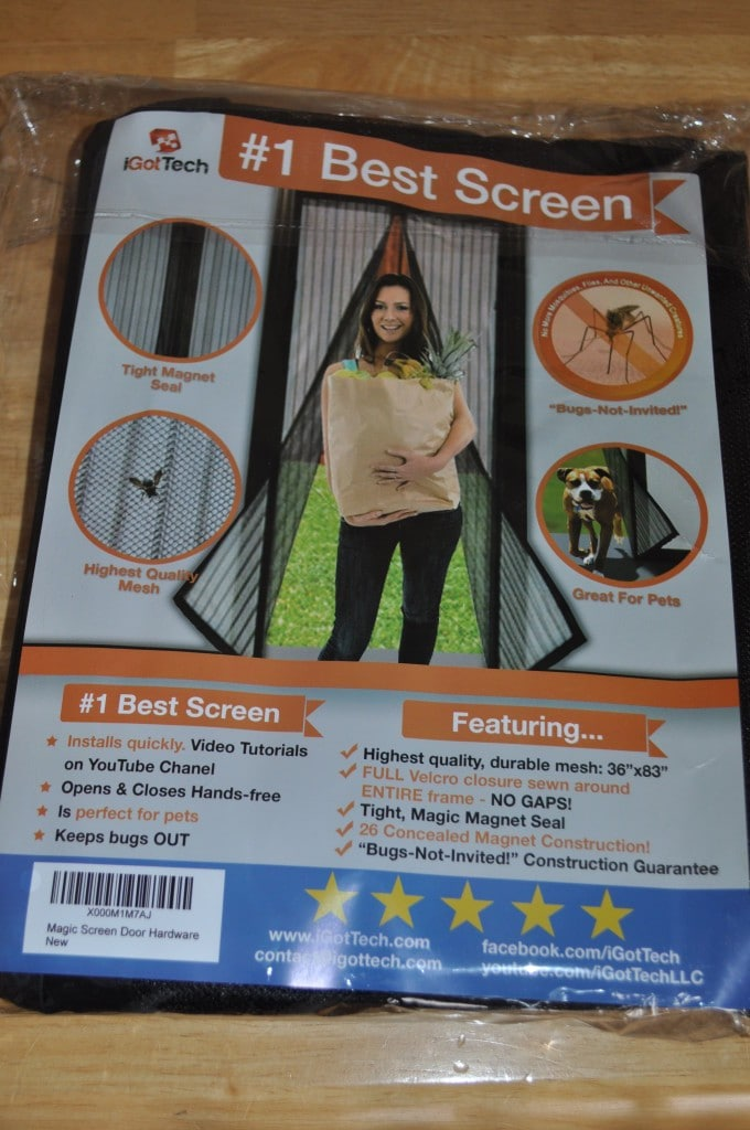 magnetic screen door by IGotTech