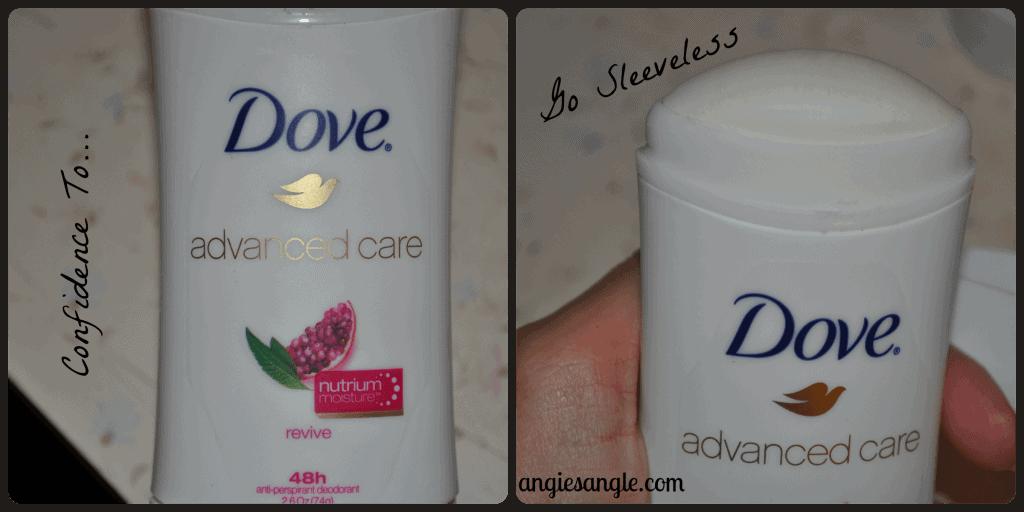 Dove Advanced Care Deodorant - Confidence To Go Sleeveless
