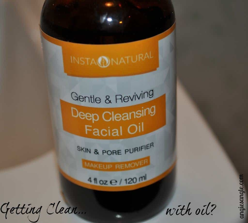Getting Clean with Oil - InstaNatural Cleansing Oil