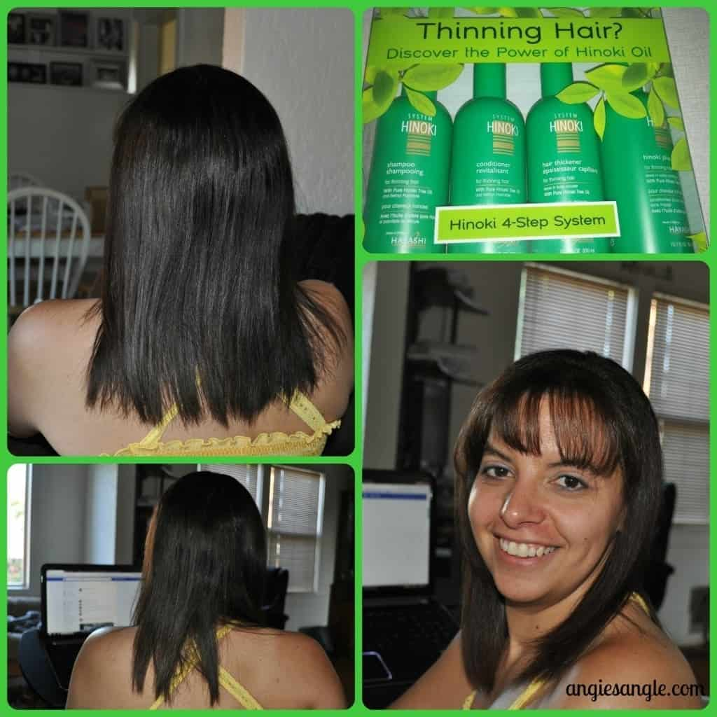 Hinoki 4-Step System for Thinning Hair - Hair at the Beginning