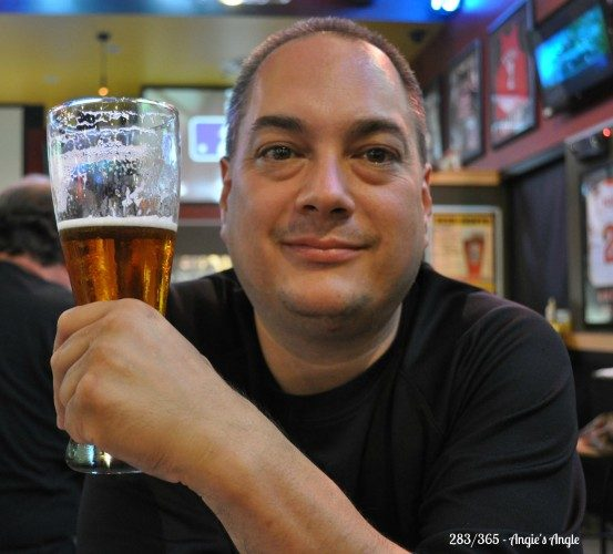 Catch the Moment 365 - Day 283 - Jason at Buffalo Wild Wings