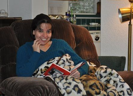 Comfy Blanket and Book - Angie