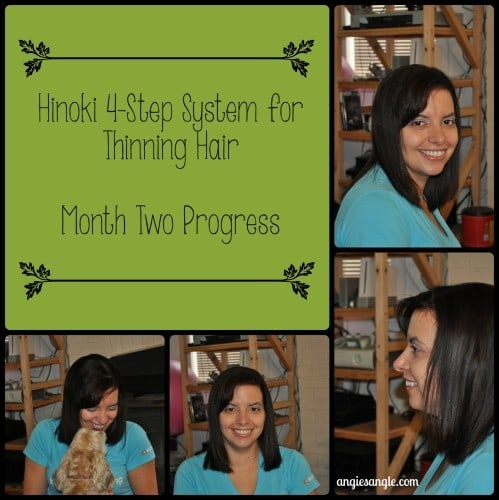 Hinoki 4-Step System for Thinning Hair - Month Two Progress