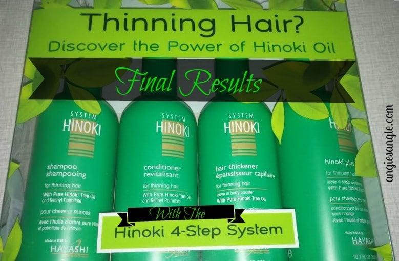 Hinoki 4-Step System for Thinning Hair - Final Results Header