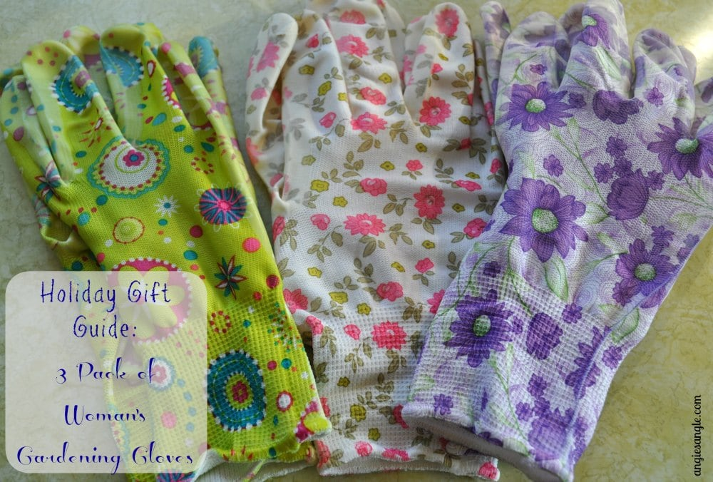 Holiday Gift Guide - 3-Pack Womans Gardening Gloves