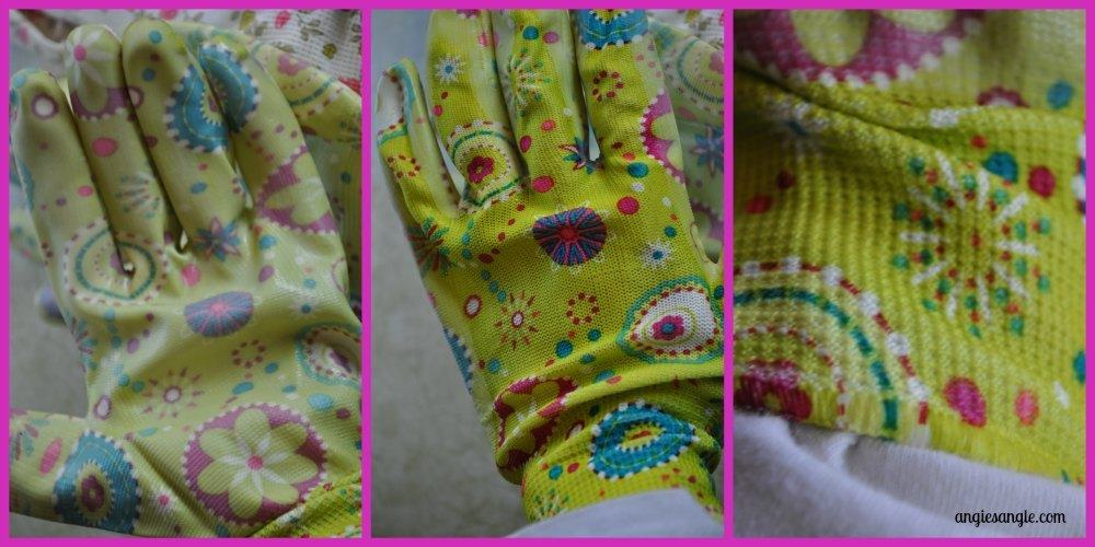 Holiday Gift Guide - 3-pack woman's gardening gloves - all views