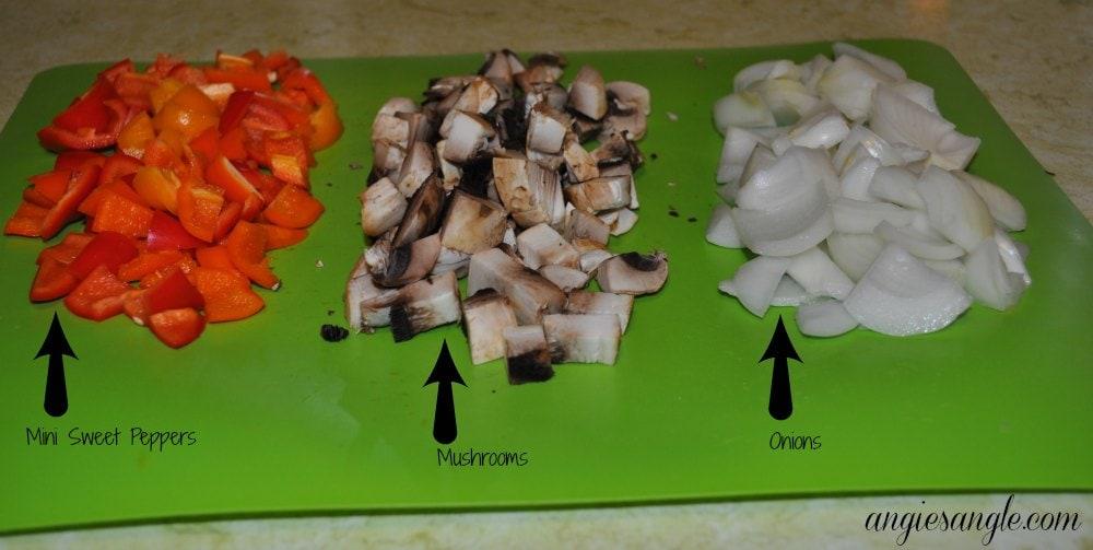 Mezzetta Recipe - Cut up Veggies